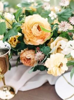 Organic Wedding Floral Centrepiece