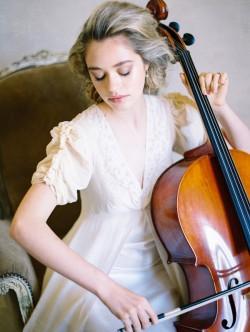 Bride & Vintage Cello