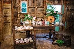 Vintage Wedding High Tea