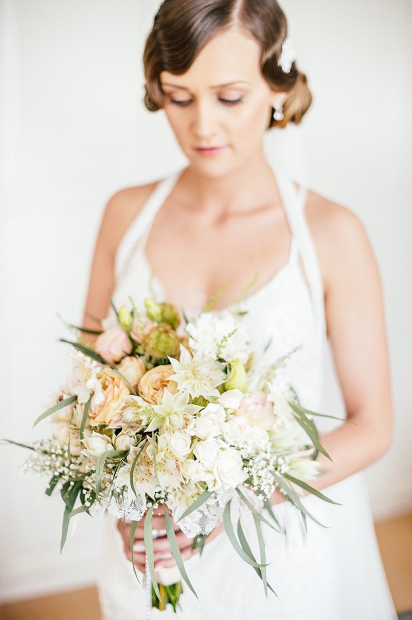 Pretty Spring Bridal Bouquet