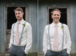 Groomsmen with Pink Ties