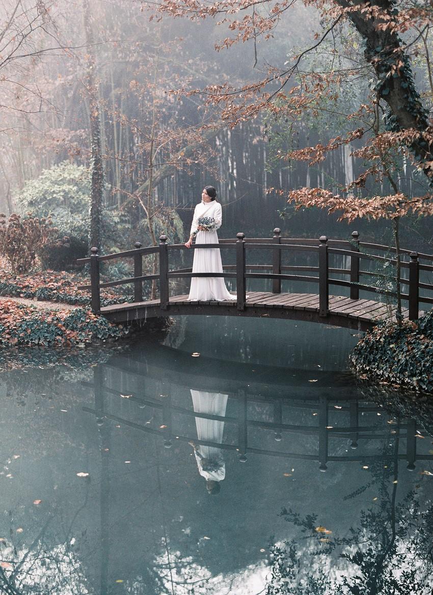 Romantic Winter Bride
