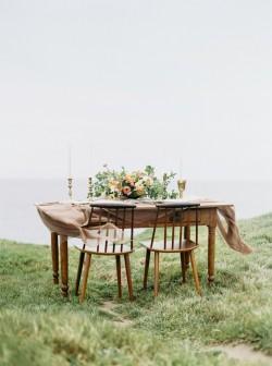 Romantic Modern Vintage Sweetheart Table