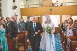 Vintage Church Wedding