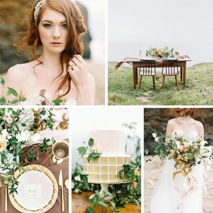 A Romantic Watercolour Beach Wedding Inspiration Shoot