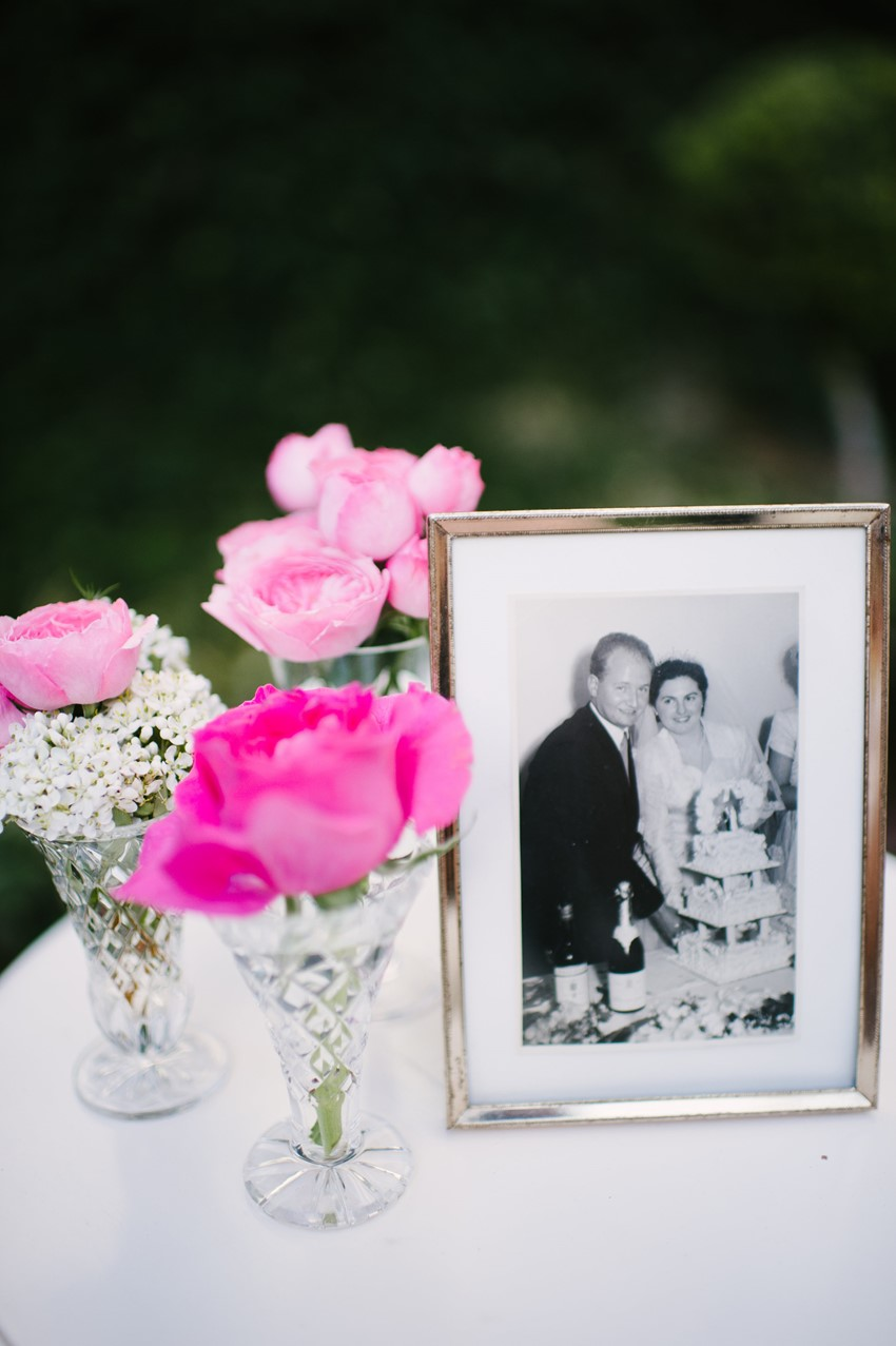 A Chic Summer Wedding with Splashes of Pink and Two Ceremonies ...