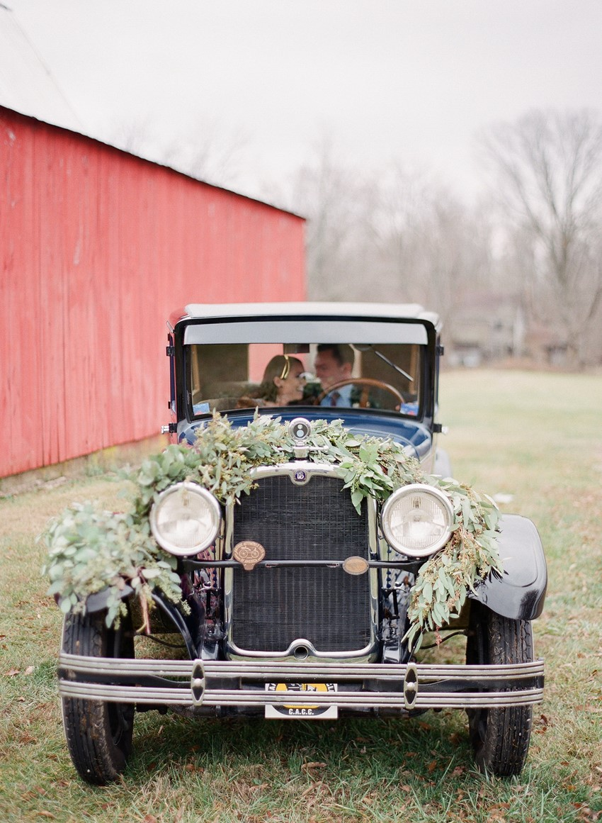 Vintage Wedding Car Photography by Shannon Duggan Photography