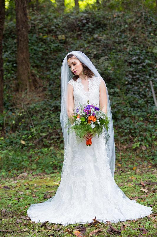 Bold & Bright Bohemian Bride