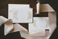 Romantic Dusky Pink Wedding Invitations // Photography by Onelove Photography http://www.onelove-photo.com