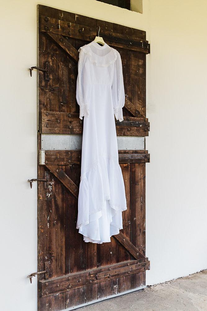 Vintage Boho Wedding Dress // Photography ~ Lisa Digliglio