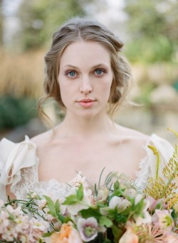 Romantic Natural Bridal Makeup Photography by Archetype Studios Inc