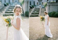Romantic Vintage Bridal Look Photography by Archetype Studios Inc