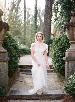 Vintage Bridal Dress from Gossamer Photography by Archetype Studios Inc