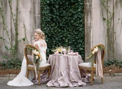 Wedding Sweetheart Tablescape Photography by Archetype Studios Inc