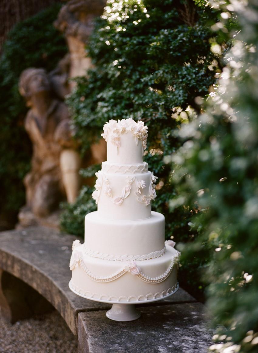 Delicious vintage wedding cake Photography by Archetype Studios Inc