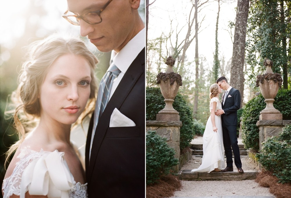 Modern Vintage Bride & Groom Photography by Archetype Studios Inc