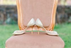 Glamorous Bridal Shoes Photography by Anna Kardos