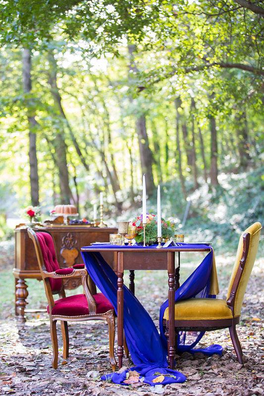 Woodland Wedding Sweetheart Table
