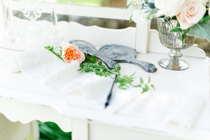 Vintage Wedding Decor Photography by Anna Kardos Photography