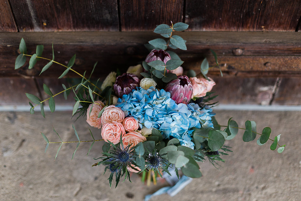 Boho Bridal Bouquet // Photography ~ Lisa Digliglio