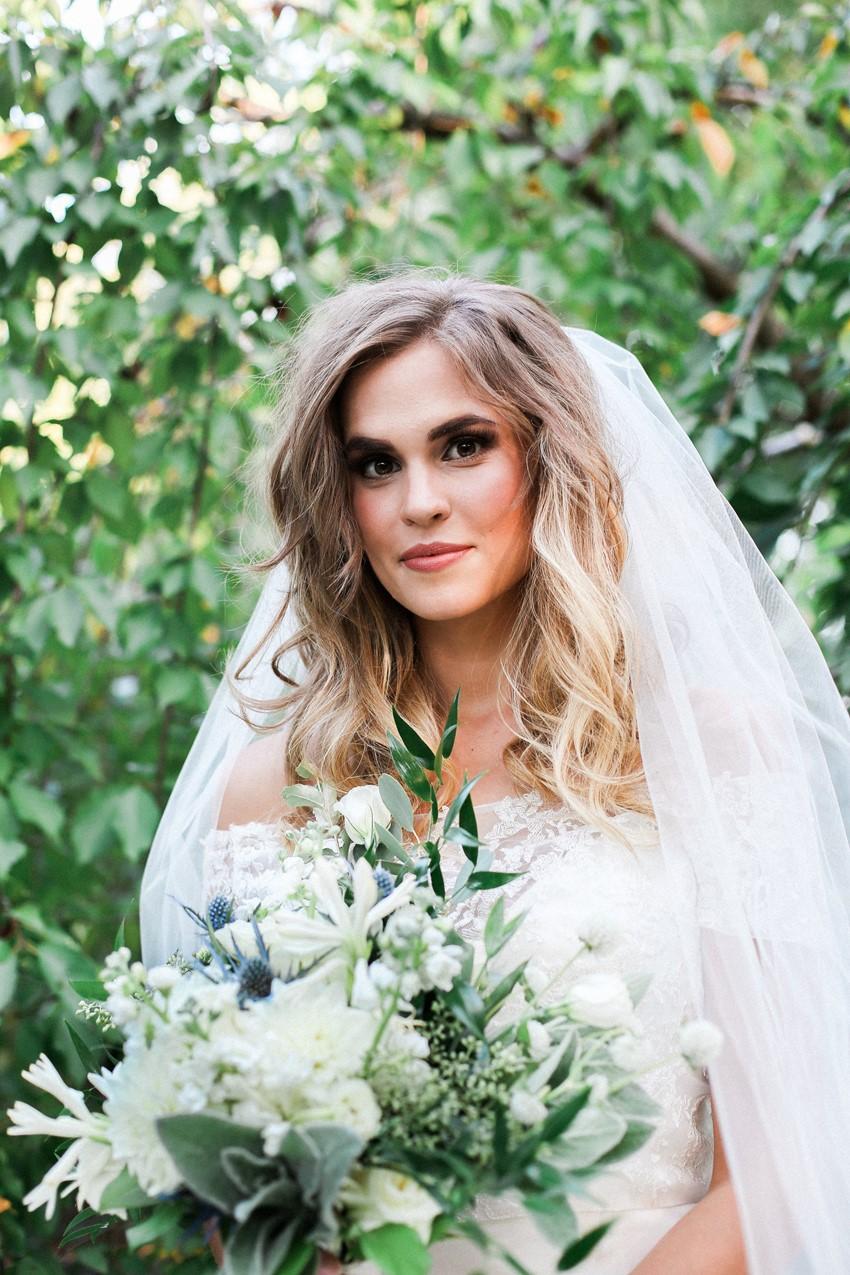 Garden Wedding Bridal Look Photography by Gaudium Photography