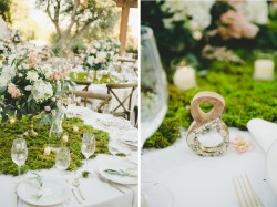 Lush Boho Chic Wedding Tablescape // Photography by Onelove Photography http://www.onelove-photo.com