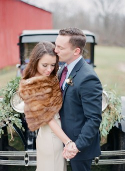 Winter Wedding Bride & Groom Photography by Shannon Duggan Photography