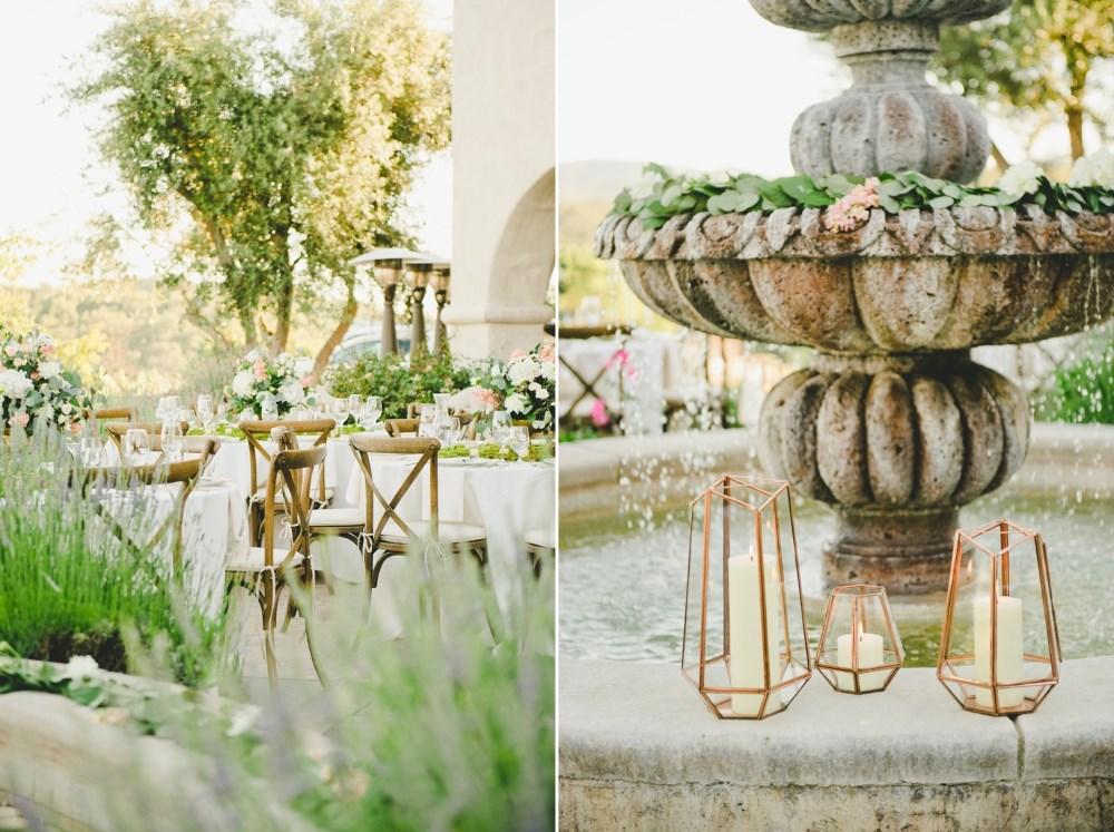 Lush Summer Wedding Reception // Photography by Onelove Photography http://www.onelove-photo.com