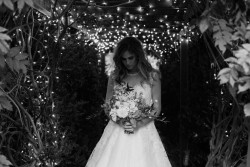 Black & White Bridal Portrait Photography by Gaudium Photography
