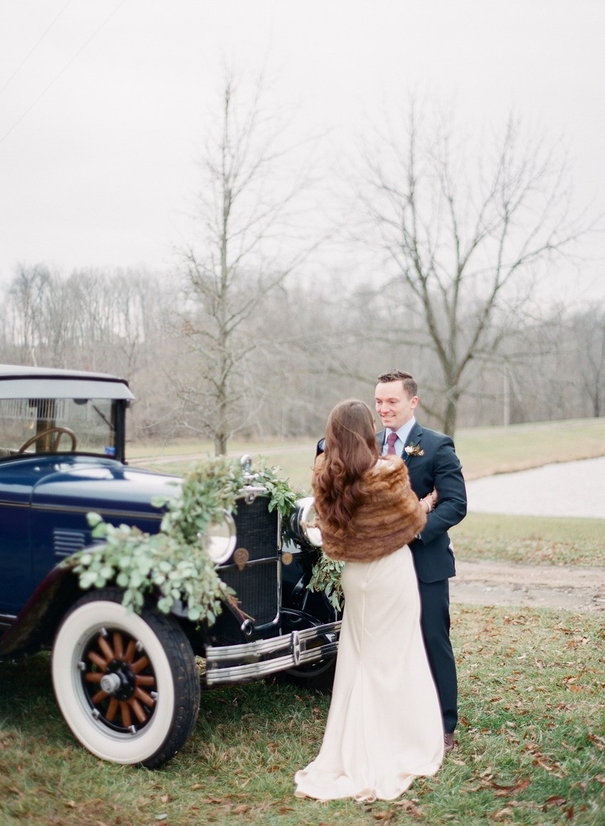 Elegant Winter Wedding Inspiration Photography by Shannon Duggan Photography