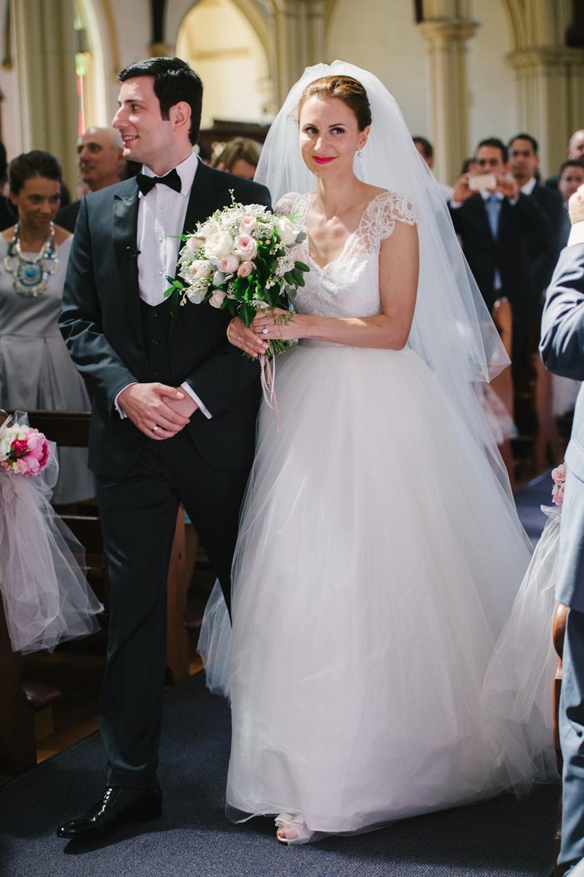 Catholic Church Wedding Photography by Claire Morgan