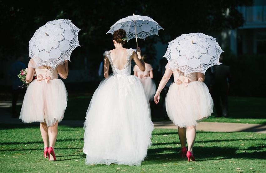 Bride & Bridesmaids Photography by Claire Morgan