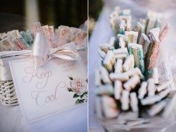 Wedding Finishing Touches - Fans Photography by Claire Morgan
