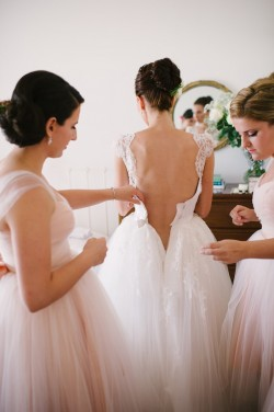 Bride & Bridesmaids Photography by Claire Morgan