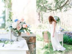 Vintage Spring Wedding Decor Photography by Anna Kardos Photography