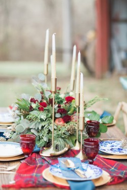 Winter Wedding Tablescape Photography by Shannon Duggan Photography