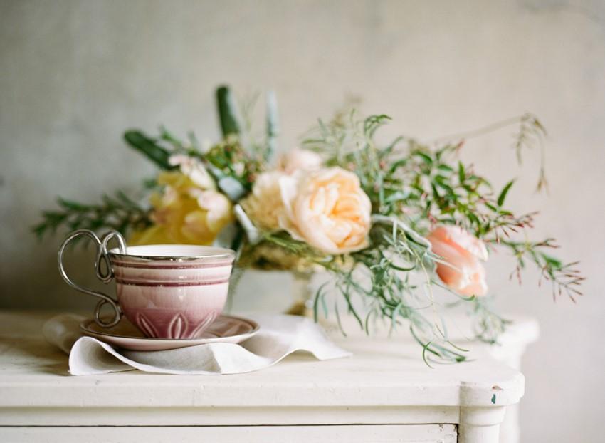 Romantic Vintage Wedding Decor Photography by Archetype Studios Inc