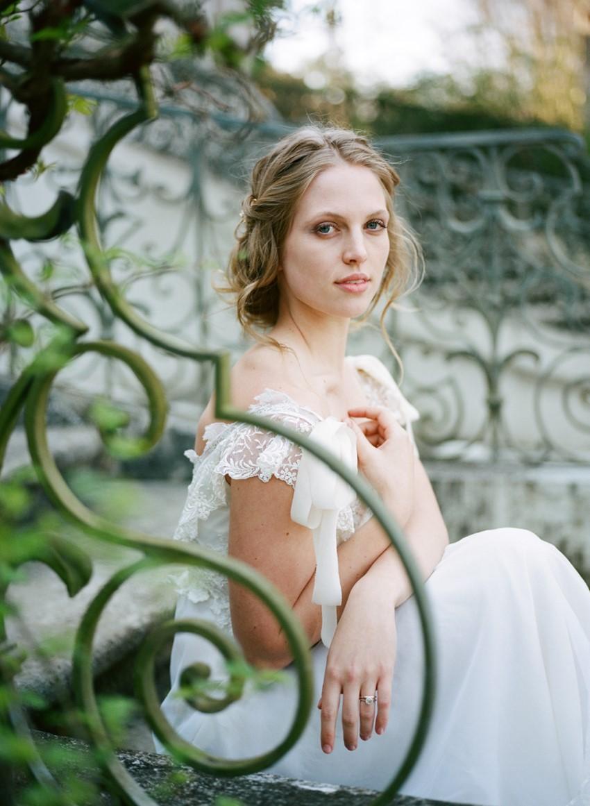 Romantic Bridal Look Photography by Archetype Studios Inc