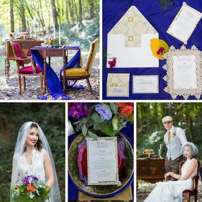 Boho Woodland Wedding Inspiration