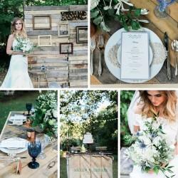 Dusk & Copper Garden Wedding Inspiration