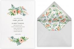 Paperless Wedding E-vites