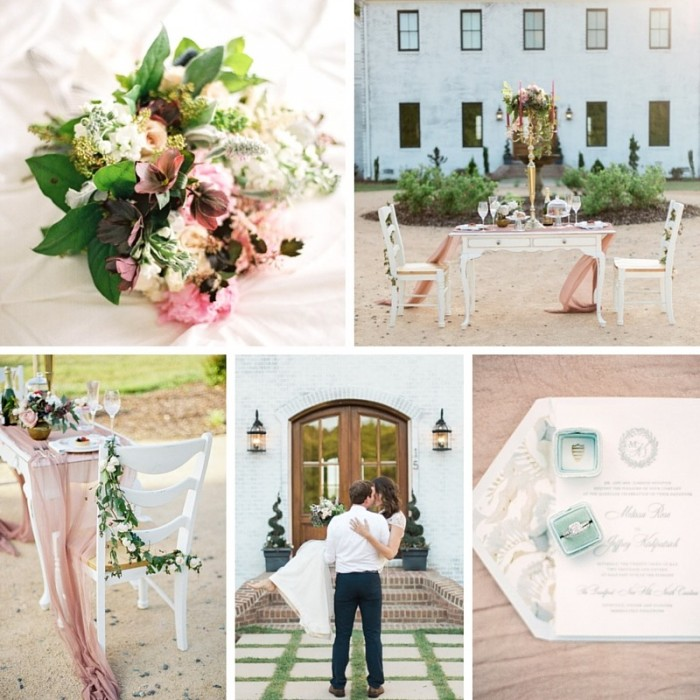 Romantic Elopement Inspiration with a Vintage Vespa // Photography by Live View Studios http://www.liveviewstudios.com