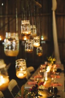 Mason Jar Lighting // Photography ~ Brett and Jessica