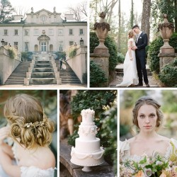 Wedding Inspiration with Romance & Refined Elegance at Swan House