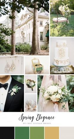 Spring Elegance - Wedding Inspiration in a Fresh Spring Colour Palette