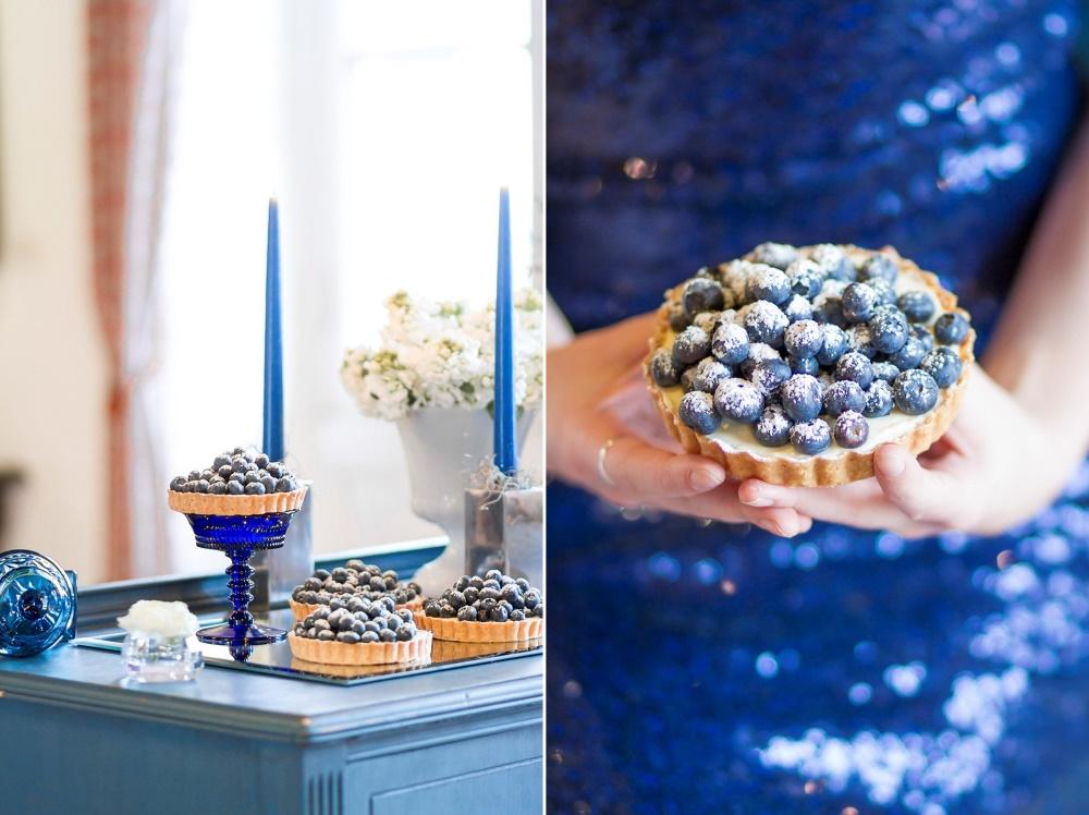 Blue Winter Wedding Ideas // Photography ~ Twin Lens Weddings