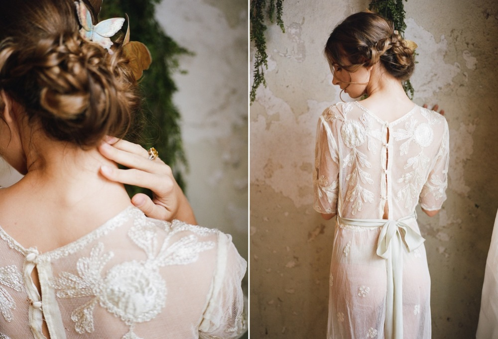 Romantic Vintage Butterfly Boudoir Shoot // Photography ~ Archetype Photography