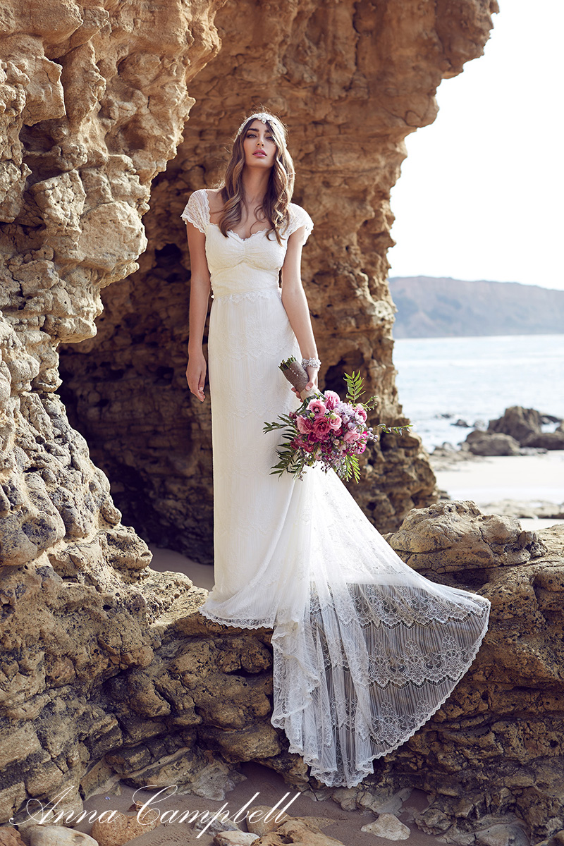 Anna Campbell Wedding Dress Lilly from her 2016 Spirit Collection