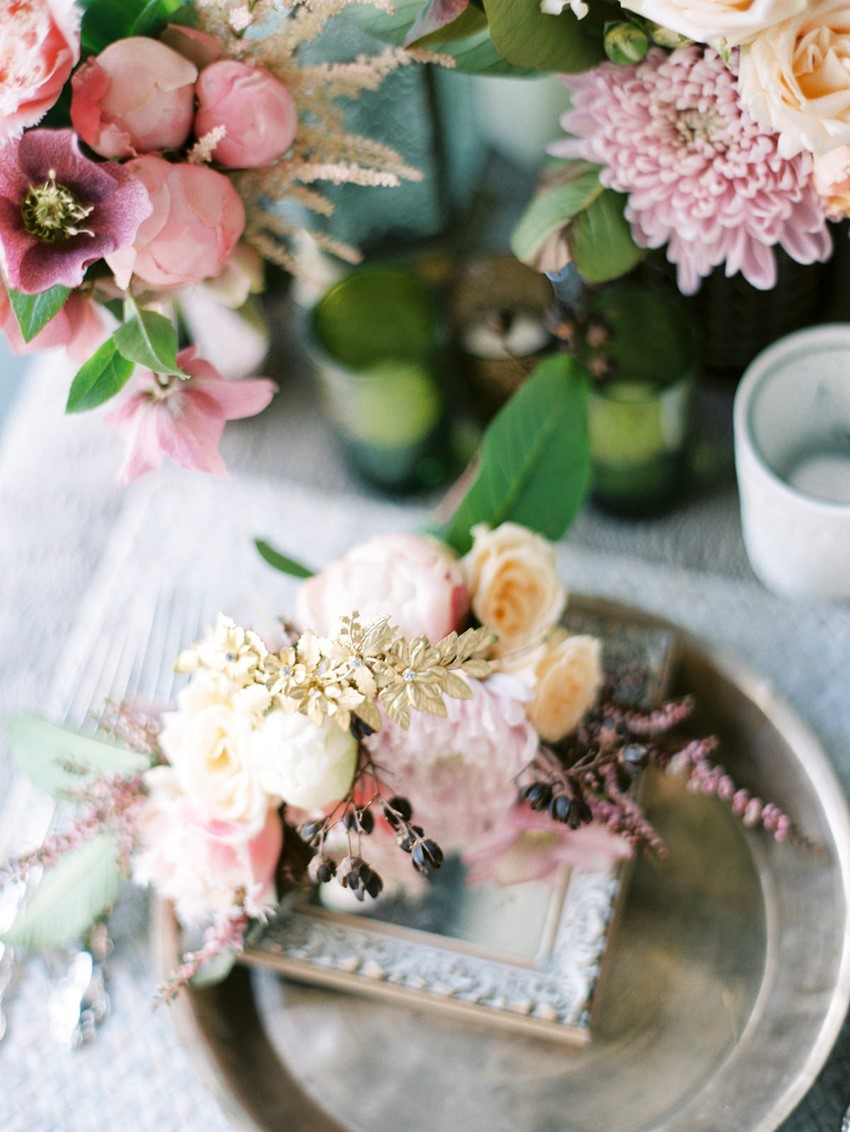 Spring wedding decor // Photography ~ We Are Origami