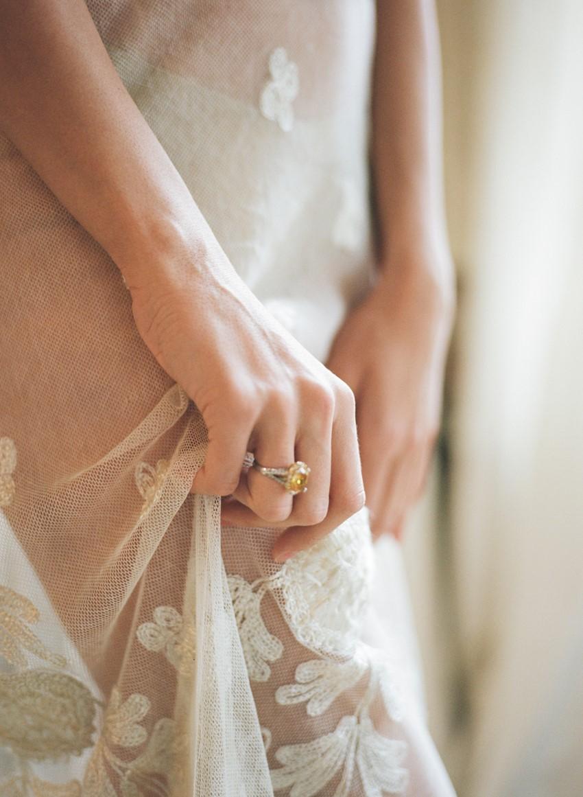 Yellow Diamond Engagement Ring // Photography ~ Archetype Photography